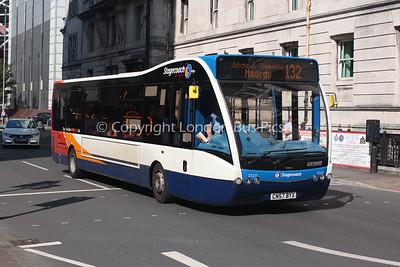 25211, CN57BYX, Stagecoach de Cymru