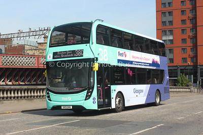 34388, SK19EMX, First Glasgow