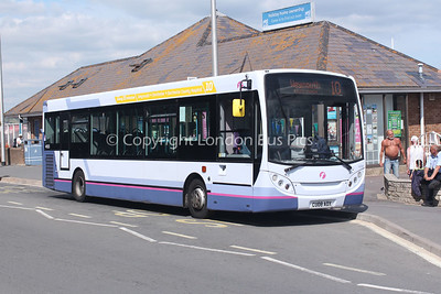 44505, CU08ADX, First Hampshire and Dorset