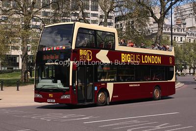 DA203, PF08URS, The Big Bus Company