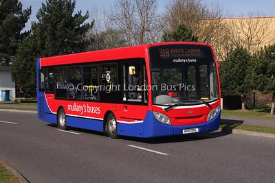 KX10DVL, Mullany's Buses