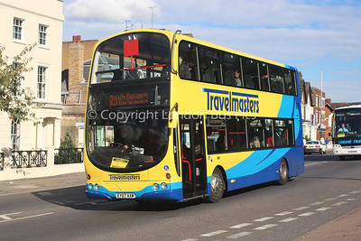 EY07AXM, Travelmasters of Sheerness