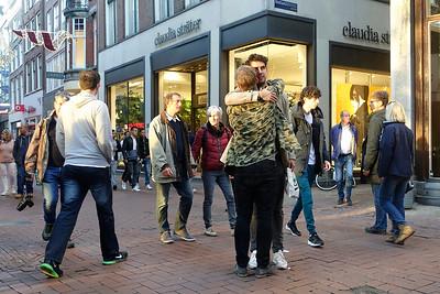 Nederland, Amsterdam, Kalverstraat, 31 oktober 2016, foto: Katrien Mulder