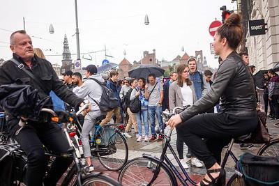 Nederland, Amsterdam, een verregende zomerdag, foto: Katrien Mulder