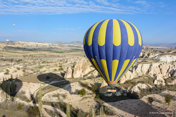 Ballonflyvning i Tyrkiet