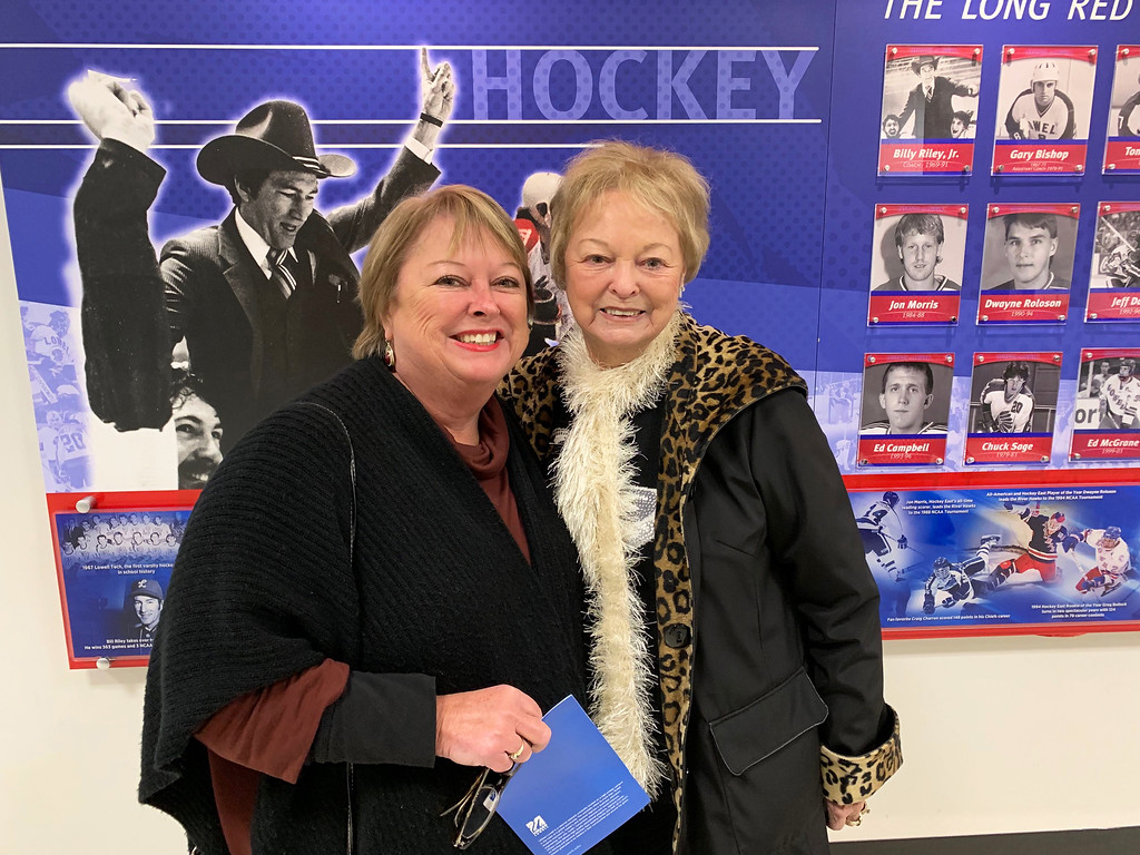 . Tammy Dudal of Atkinson, N.H., and Barbara Gemme of Naples, Maine