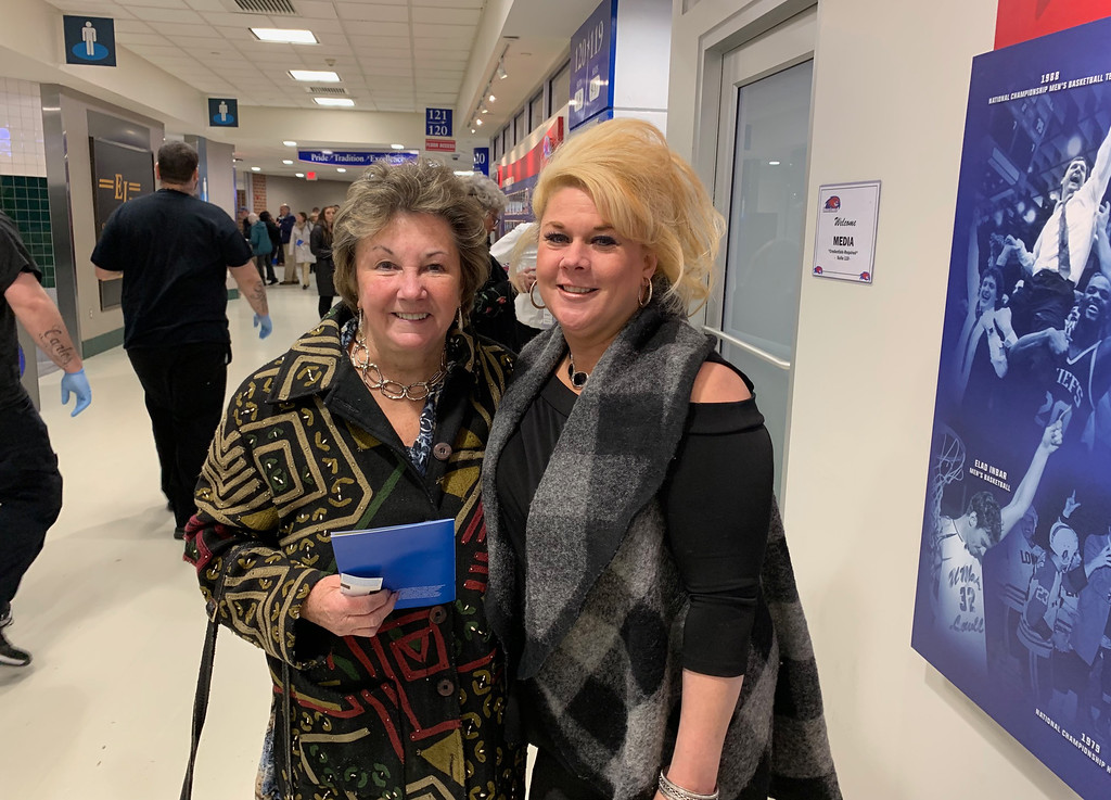 . City Councilor Rita Mercier and her daughter, Kristine Mercier, of Lowell