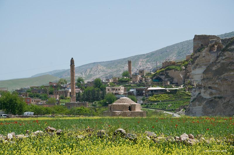 Hasankeyf, view from the northwest (2015)