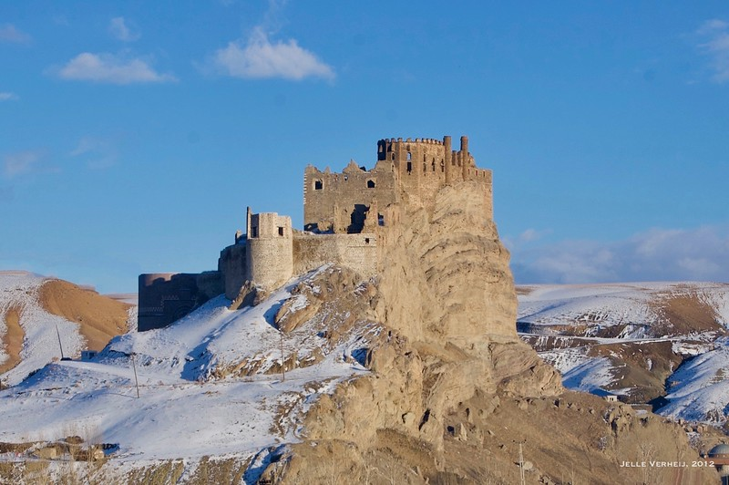 Hoşap castle in winter (2012)