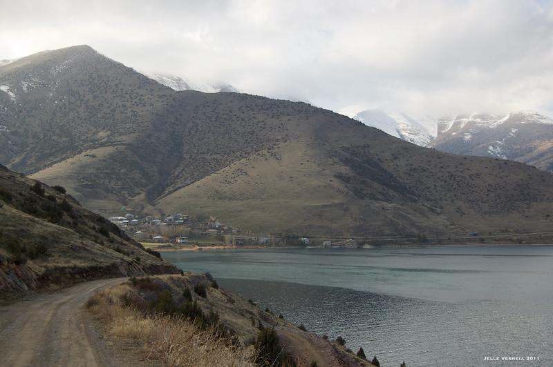 Approaching Altınsaç (Kenzek) village