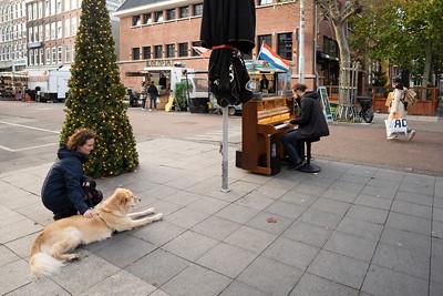 Nederland, Amsterdam, 17-11-2020, Albert Cuypmarkt en omgeving tijdens tweede golf Covid-19, foto: Katrien Mulder
