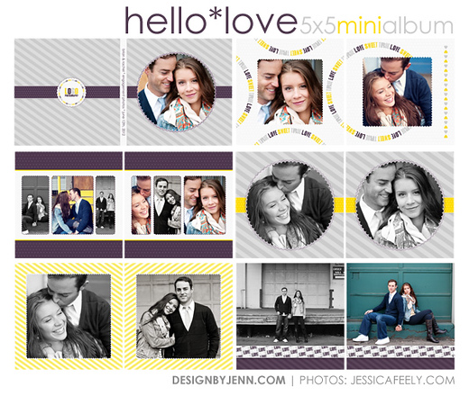 HL 5x5 mini album preview