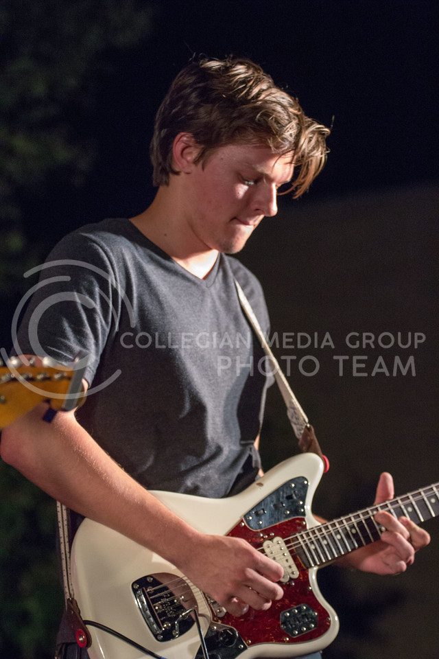 Joy Camp preforms at Opus Battle of the Bands on Sept. 22, 2017 (Alex Shaw | Collegian Media Group)
