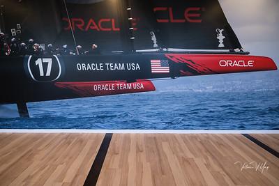 Oracle Team US Mural