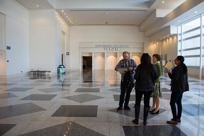 Moscone Esplanade Lobby Area