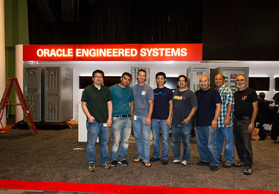 My friends from the Engineered Systems team.  We have our annual reunion every year.
