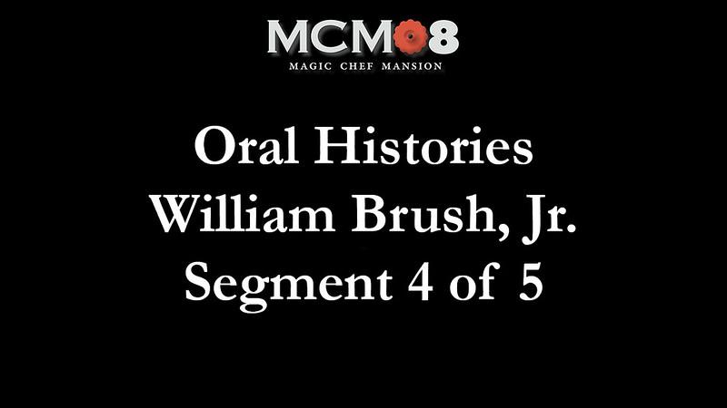 Bill Brush Oral Histories Seg 4 of 5