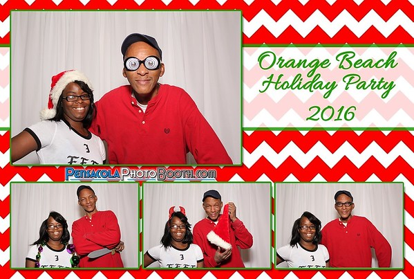 Orange Beach Holiday Party 12-10-2016