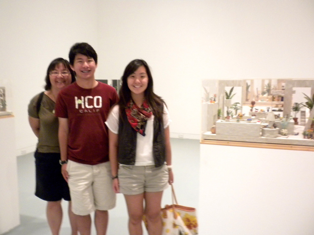 Orange Museum of Art, Jack Goldstein Exhibition with Osaki Family on Friday, August 10, 2012-11
