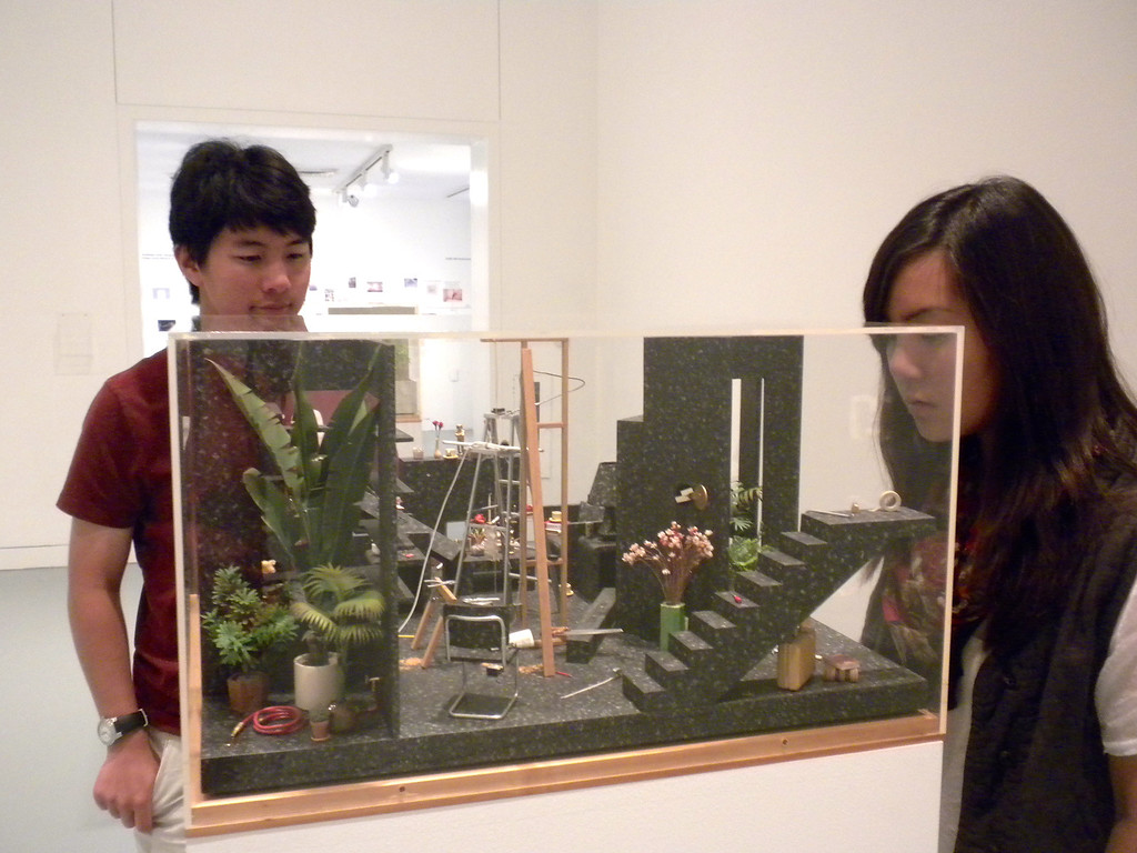 Orange Museum of Art, Jack Goldstein Exhibition with Osaki Family on Friday, August 10, 2012-5