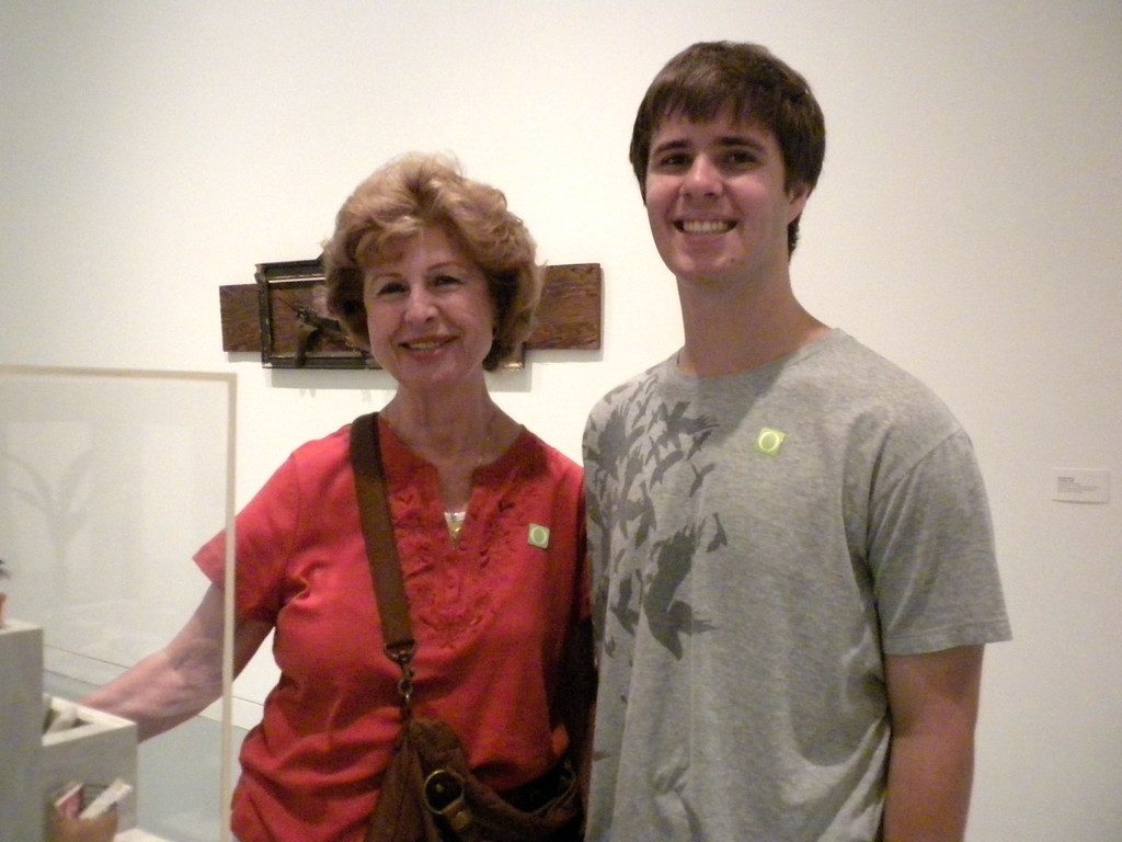 Orange Museum of Art, Jack Goldstein Exhibition with Osaki Family on Friday, August 10, 2012-10