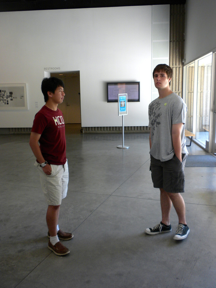 Orange Museum of Art, Jack Goldstein Exhibition with Osaki Family on Friday, August 10, 2012-39