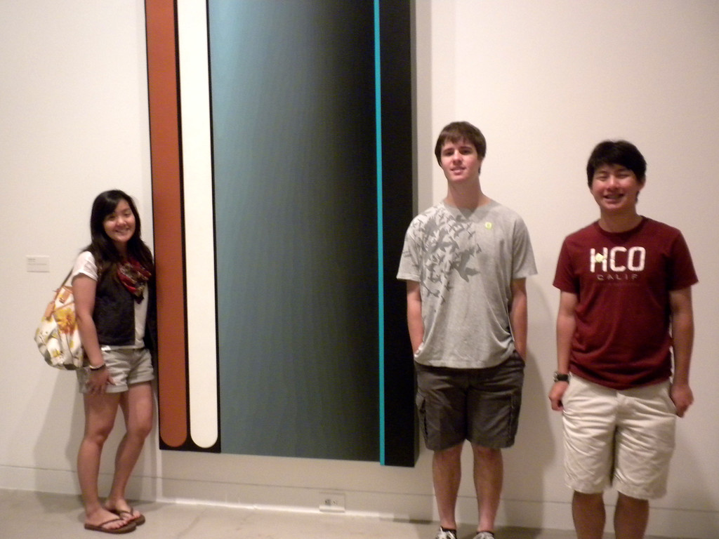 Orange Museum of Art, Jack Goldstein Exhibition with Osaki Family on Friday, August 10, 2012-3