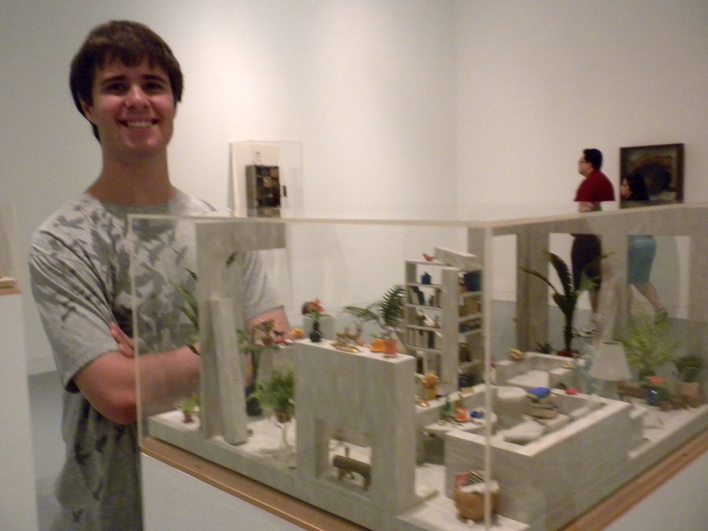 Orange Museum of Art, Jack Goldstein Exhibition with Osaki Family on Friday, August 10, 2012-6