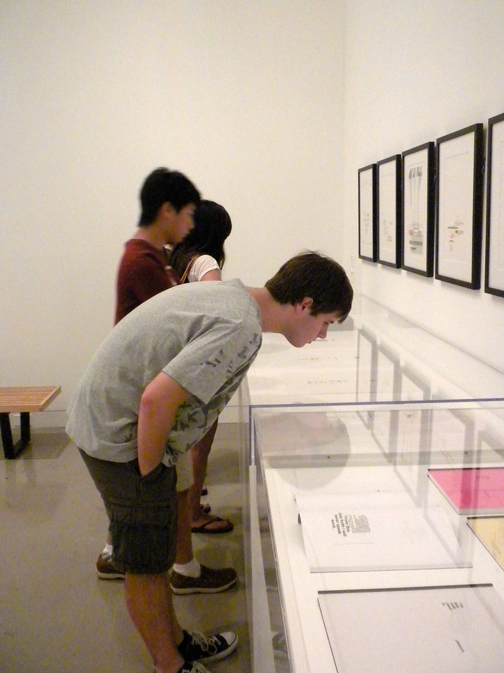 Orange Museum of Art, Jack Goldstein Exhibition with Osaki Family on Friday, August 10, 2012-35