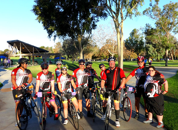 Orange County Ride for AIDS Charity Event, Irvine CA October 22, 2016