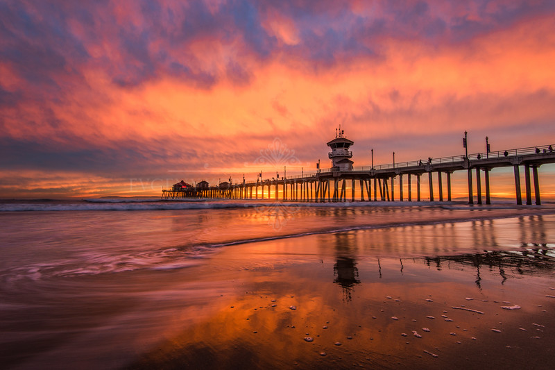 """Huntington Beach Burn"""