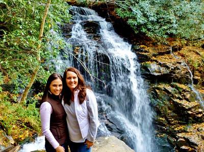 danielle & kristi - waterfall