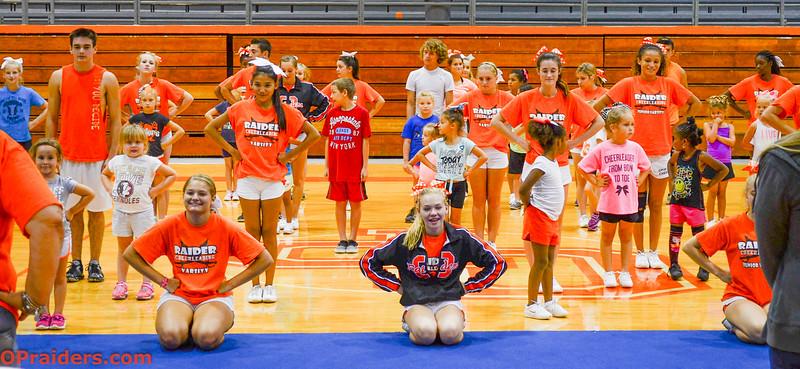 Cheerleading Camp 2014