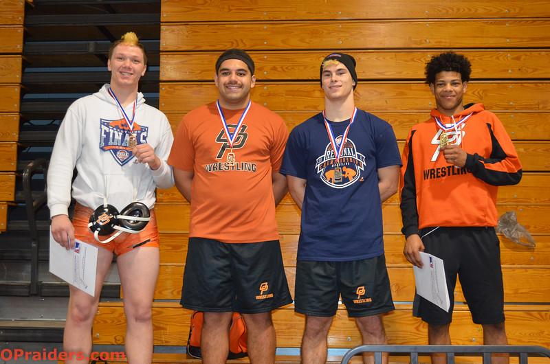 OP Wrestlers at Regionals 2015