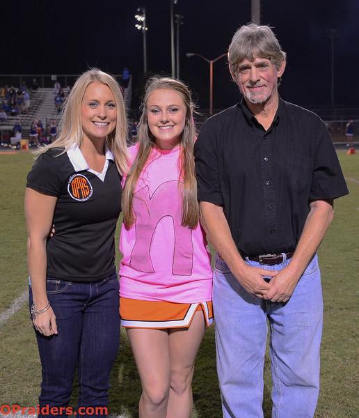 Senior Night: Cheerleaders & Band