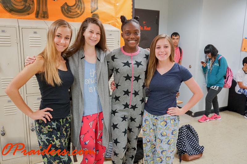 Homecoming Week: Pajama Day