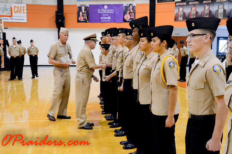 OPHS ROTC Inspection