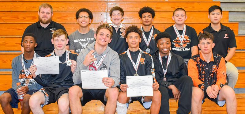 OP Wrestling Takes 2nd at District
