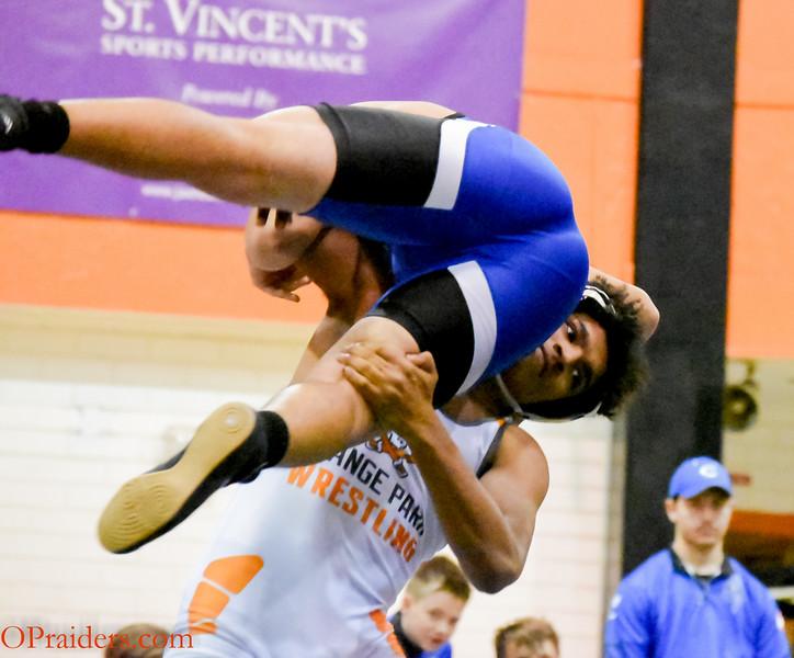 Raider Wrestling vs Clay High