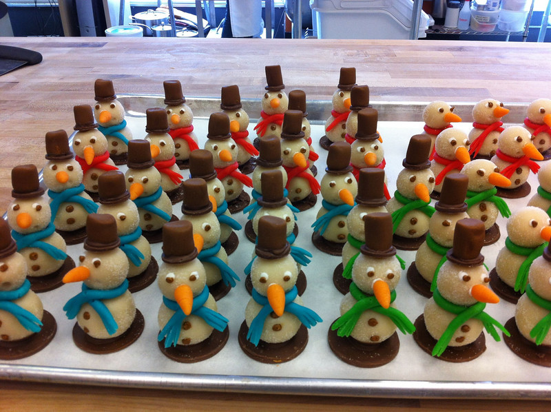 Teisha and heather turned some sugar and almond paste into a miniature army of awesome!