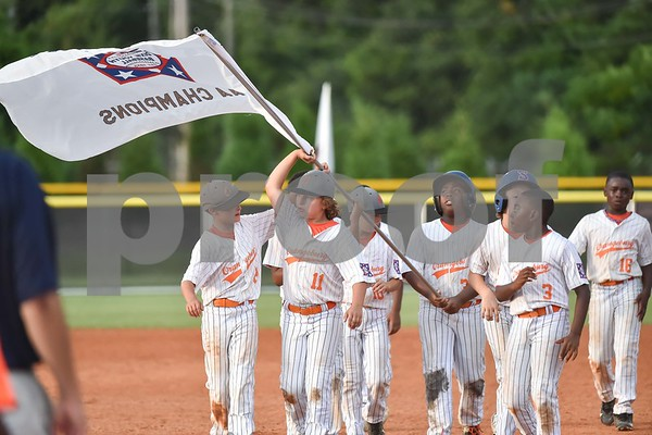 Orangeburg Minors Baseball 2018