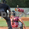 Kyle Gray of Orangeburg Post 4 delivers a pitch against Camden Post 17 Monday night in Orangeburg.