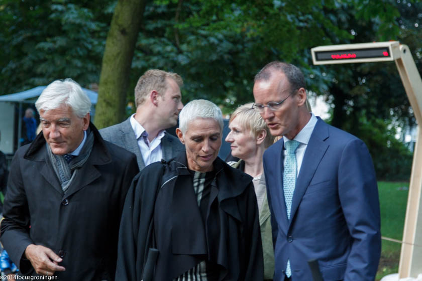 nederland 2014, groningen, oranje- en plantsoenwijk, noorderzon, haagse delegatie,
