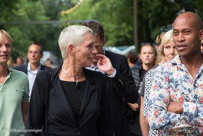 nederland 2015, groningen, oranje- en plantsoenwijk, noorderzon, wilma mansveld