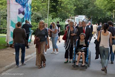 nederland 2015, groningen, oranje- en plantsoenwijk, noorderzon, piet hein donner