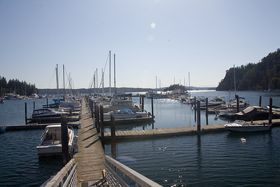 Deer Harbor marina.