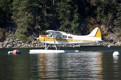 Float planes are one of the scheduled transport methods.