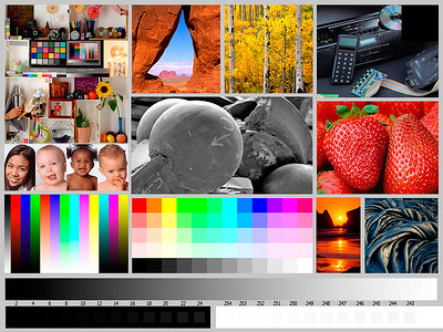 Color chart. How good is your monitor?