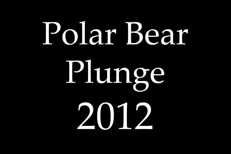 Polar Bear Plunge 2012