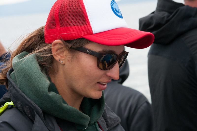 Our young marine biologist guide. She was from Long Island, had a wonderful dry sense of humor  and fun and was never stumped by a question.